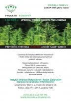 Prokram Konopny - spotkanie informacyjne dla rolników